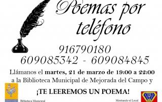 Poemas por teléfono