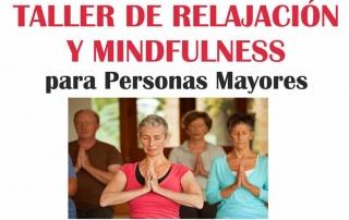 TALLER DE RELAJACIÓN Y MINDFULNESS 2017. Mejorada. Recorte