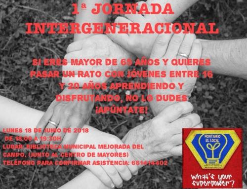 1ª Jornada Intergeneracional en Mejorada del Campo