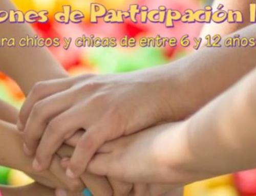 Comisiones de Participación Infantil. ¡Participa!