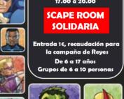 Scape Room Solidaria Mejo