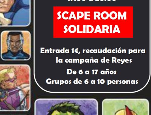 Scape Room Solidaria en Mejorada del Campo