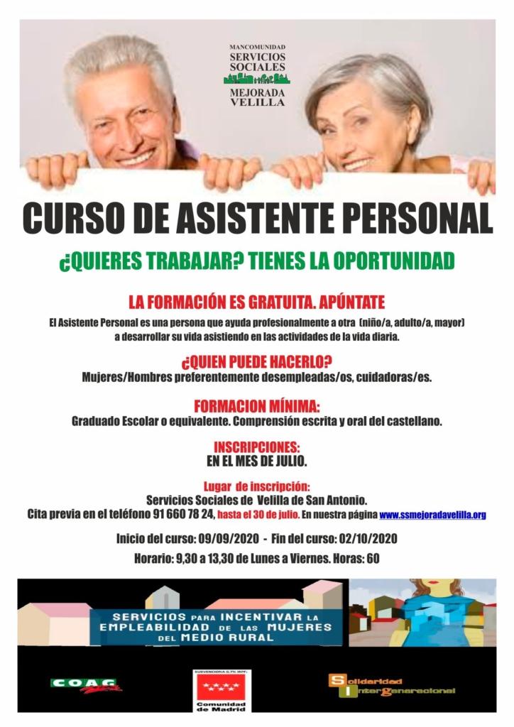 CURSO DE ASISTENTE PERSONAL