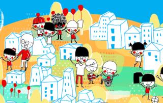 cartel ciudades amigas