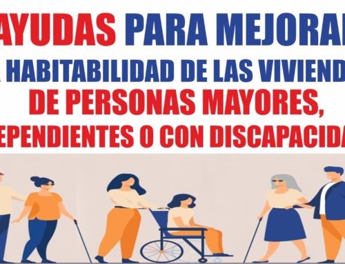 CONVOCATORIA AYUDAS PARA LA MEJORA DE LA HABITABILIDAD DE LA VIVIENDA DE PERSONAS MAYORES 2021