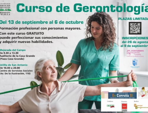 CURSO DE GERONTOLOGÍA