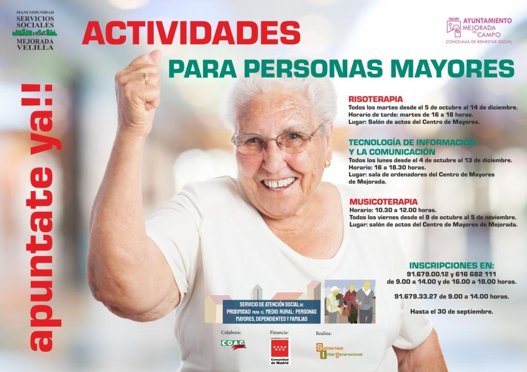 actividades para personas mayores Mejorada