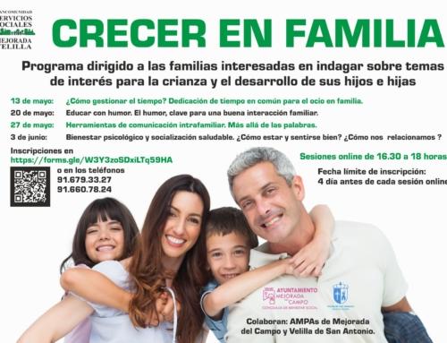CRECER EN FAMILIA