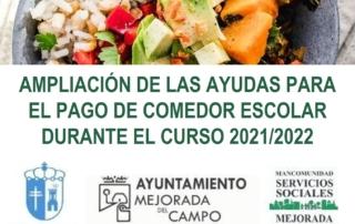 AYUDAS PARA EL PAGO DE COMEDOR ESCOLAR DURANTE EL CURSO 20212022 (recorte)