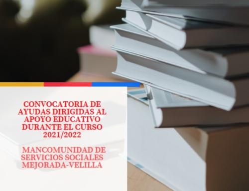 CONVOCATORIA DE AYUDAS DIRIGIDAS AL APOYO EDUCATIVO DURANTE EL CURSO 2021/2022